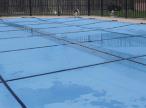 16 X 36 King Light Weight Solid Safety Pool Cover With 20