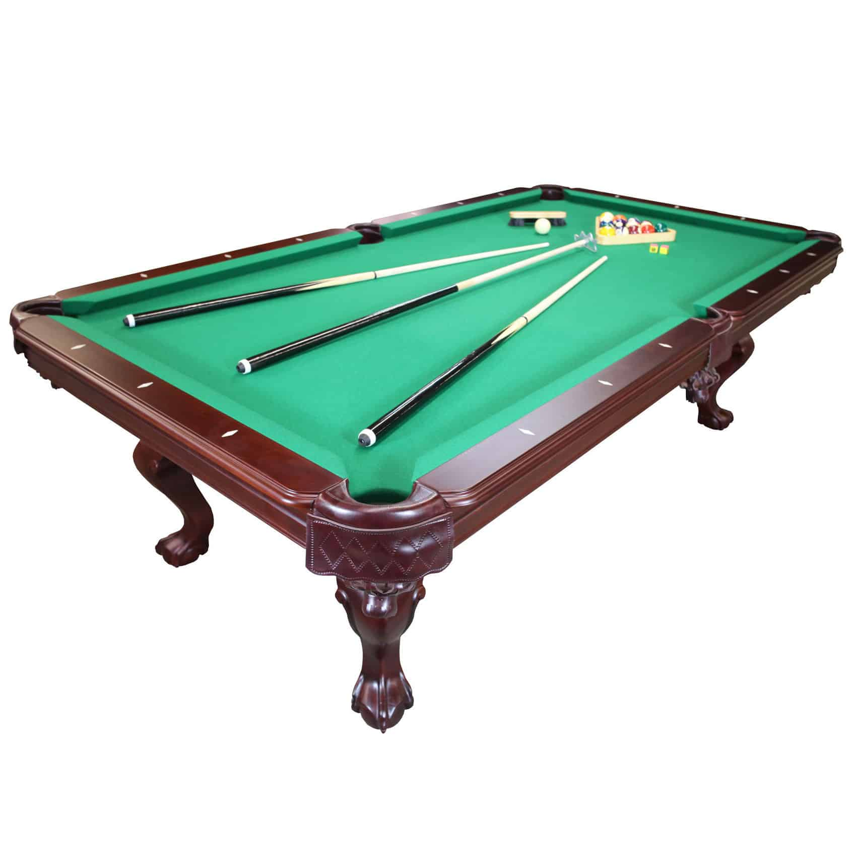 Parisian Nights 8 Ft Pool Table With