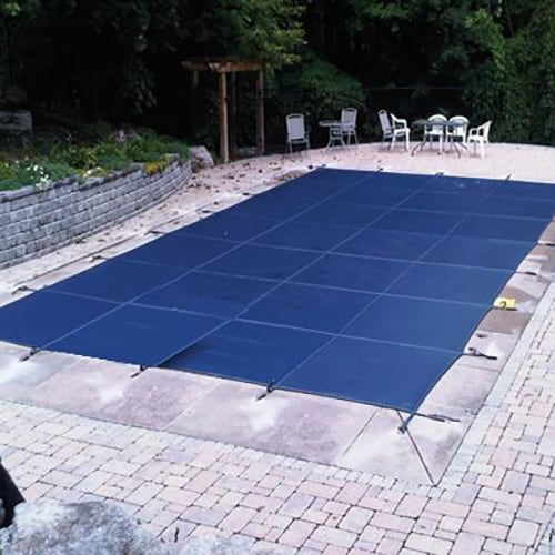 Winter Pool Cover Inground 16X36 Rectangle Arctic Armor 12Yr Warranty w//Tubes