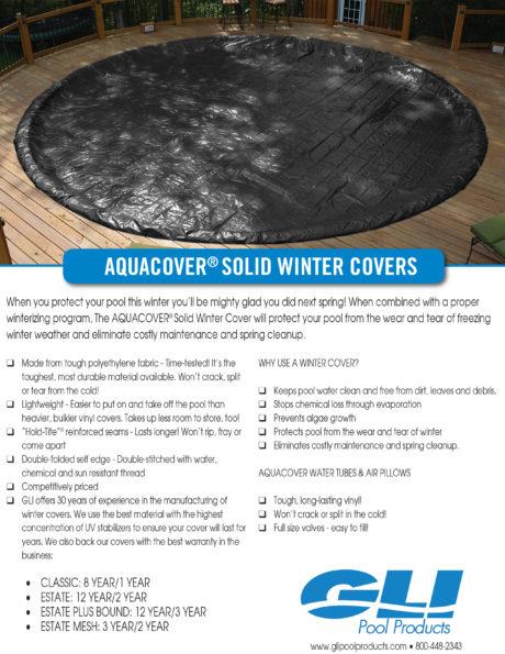 GLI Winter Pool Cover Brochure
