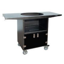 2-Door-Primo-Kamado-Grill-Cart-Black