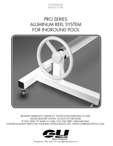 GLI Monsoon Inground Solar Blanket Storage System Owners Manual