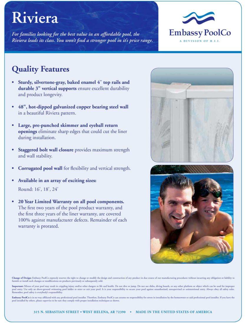 Riviera-Above-Ground-Pool-Kit-Warranty