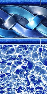 Cascade Diffusion Pool Liner