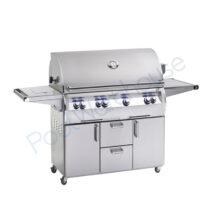 Fire Magic Echelon Diamond E1060s 48 in Freestanding Grill with Side Burner