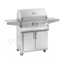 Fire Magic Legacy Charcoal 30 in Freestanding Grill with Smoker Oven-Hood