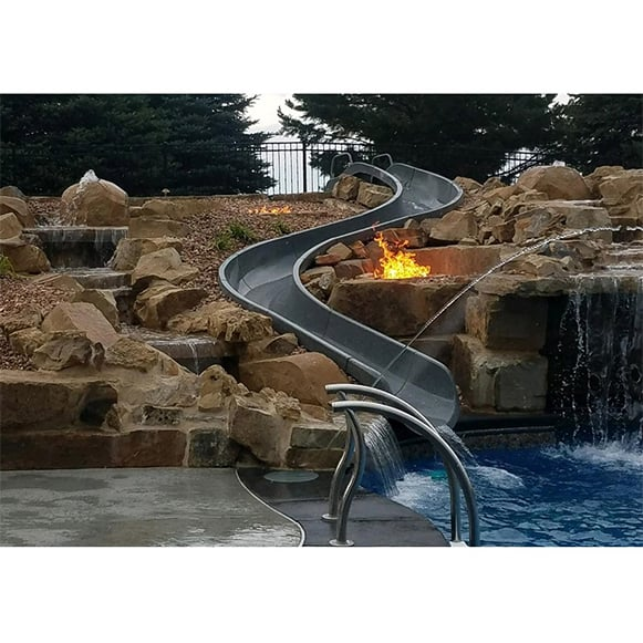 Sr Smith River Run Pool Slide, How Much Is A Slide For Inground Pool